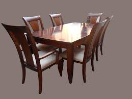 uhuru furniture collectibles mahogany dining table w 6 outback