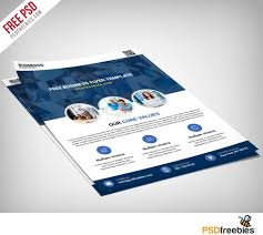 multipurpose business flyer free psd template download download psd