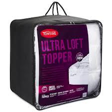 King Mattress Topper Tontine Ultra Loft King Mattress Topper Peter U0027s Of Kensington