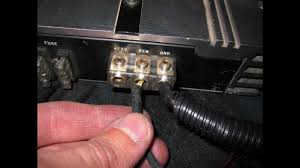 how to hook up two amplifiers 1 for sub u0026 one for mids u0026 highs