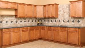 assembled kitchen cabinets kitchen cabinets rta all wood shaker spice ready to assemble or