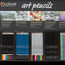 Colouring Of Kitchen Garden Drawing For Kids Amazon Com Colore Premium Art Pencils Pack 50 Assorted Pencil