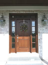 Exterior Door Wood Clingerman Doors Custom Wood Garage Doors Clearville Pa