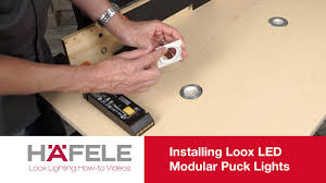 Installing Under Cabinet Puck Lighting by
