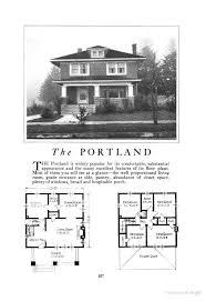 Foursquare House Plans | the portland an american foursquare kit house house plan homes