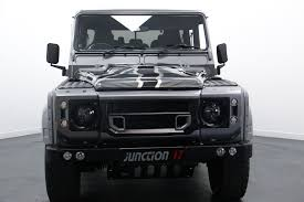 land rover defender black land rover defender 110 for sale in peterborough part exchange