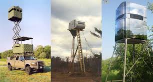 Deer Hunting Tower Blinds These 13 Ridiculous Custom Deer Stands Actually Happened
