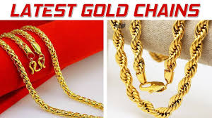best gold chain designs for gold jewellery designs in