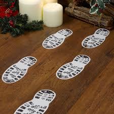 christmas craft santa u0027s boot prints trade u0026 wholesale party