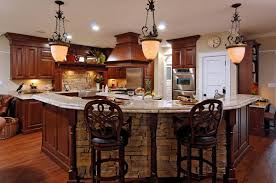 remodeled kitchen featuring natural cherry cabinetry scent