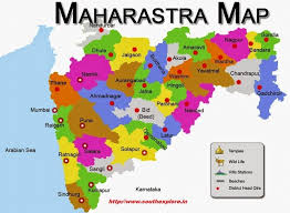best tourist map of tourist attractions in maharashtra maharashtra tourist map