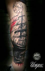 7 best ship tattoo images on pinterest tatoo crazy tattoos and