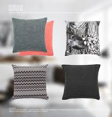 Nordic Home Lane Twin Tone Tweed Cushions Used For U0027nordic Home U0027 Inspiration