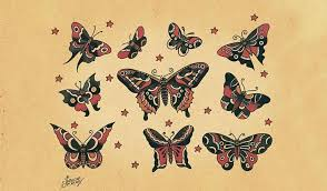 harry styles gets of butterfly that looks more