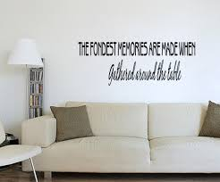 wall decal quotes for dining room color the walls of your house
