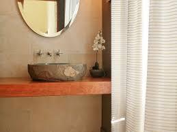 bathroom mountain contemporary oval wall mirror stone vessel sink