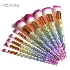 alibaba focallure extremely soft synthetic makeup brush set make up brushes eyeshadow