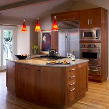 kitchen cabinet microwave shelf home accessories pendant light with white granite countertops and