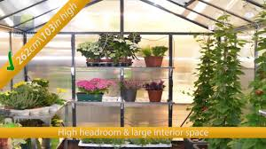 Palram Hybrid Greenhouse Palram Glory Greenhouse Youtube