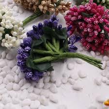 16 12pcs berry artificial stamen handmade flower for wedding home