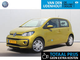 volkswagen up yellow volkswagen up occasion autobedrijf van den udenhout