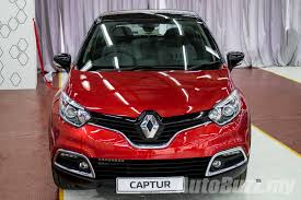 new renault captur 2017 renault captur ckd now on sale in malaysia same spec cheaper at