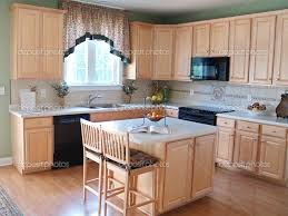 outstanding l shape kitchen decoration using light green kitchen