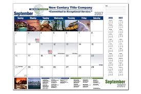 promotional calendar custom calendars custom desk pad calendars