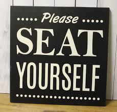 please seat yourself bathroom sign bathroom humor bathroom