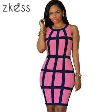 online get cheap sleeveless cage dress aliexpress com alibaba group