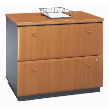 3 Drawer Wood Lateral File Cabinet Bush Series A Cherry Lateral File Cabinet Wc57454