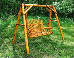 Patio Swing Frame by Porch Swings And Porch Swing Stands