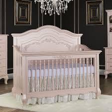 Iron Convertible Crib by Evolur Aurora 5 In 1 Convertible Crib Blush Pink Pearl Toys