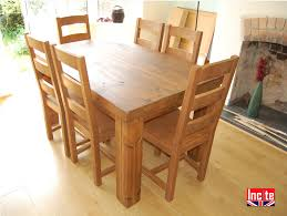 Plank Dining Room Table Solid Plank Dining Tables Handcrafted By Incite Interiors