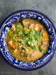 pork and poblano stew recipe simplyrecipes com