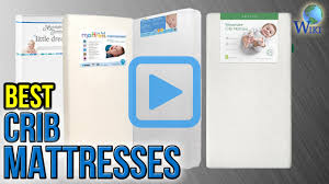 Safety First Heavenly Dreams White Crib Mattress by Top 10 Crib Mattresses Of 2017 Video Review