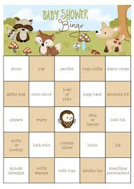 free printable halloween bingo game cards 29 sets of free baby shower bingo cards