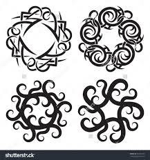 circular tribal tattoos circular tribal dragon tattoo circular