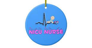 Nurse Christmas Ornament - nicu nurse adorable christmas ornament zazzle com