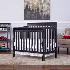 Mini Crib Baby Bedding by Dream On Me Aden Convertible 4 In 1 Mini Crib Black Toys