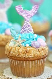 mermaid cupcakes mermaid cupcake recipe topper diy recipe mermaid