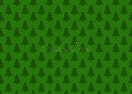 green christmas wrapping paper pattern for wrapping paper green christmas tree stock vector