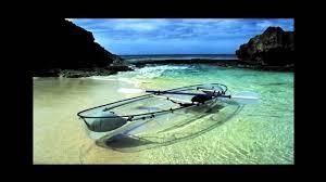 transparent kayak youtube