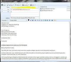 cara membuat resume kerja yang betul bagaimana menghantar email resume dan surat permohonan kerja