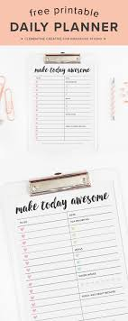 free printable 2016 day planner no more stressing use this free printable daily planner page