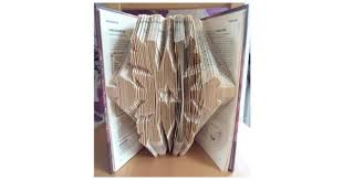 snowflake book folding pattern 691 pages 346 folds book