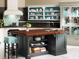 How To Finish The Top Of Kitchen Cabinets Design Ideas For Kitchen Shelving And Racks Diy