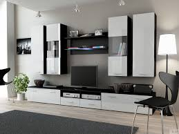 furniture modern storage wall unit ideas with desk and white