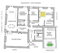 map and floor plan of the navona campo de u0027 fiori turtles dream