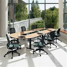 Global Boardroom Tables Global Connectables Modular Boardroom Table With Open Center Cnn502